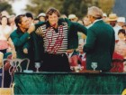 Fuzzy Zoeller Signed - Autographed Golf 8x10 inch Photo - Guaranteed to pass PSA or JSA