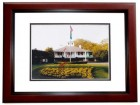 Fuzzy Zoeller Signed - Autographed Golf 8x10 inch Photo MAHOGANY CUSTOM FRAME - Guaranteed to pass PSA or JSA