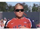 Jennie Finch (Summer Olympics) Signed 8x12 Photo (Can Be Cut Down To Make 8x10)