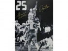 Doug Flutie and Gerald Phelan Signed - Autographed Boston College Eagles Hail Mary 16x20 inch Photo with PSA/DNA Authentication