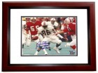 Freddie Solomon Signed - Autographed Miami Dolphins 8x10 inch Photo MAHOGANY CUSTOM FRAME - Guaranteed to pass PSA or JSA