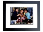 Bob Saget, Dave Coulier, and John Stamos Signed - Autographed FULL HOUSE 11x14 inch Photo BLACK CUSTOM FRAME - Guaranteed to pass PSA or JSA