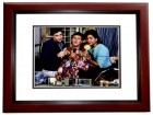 Bob Saget, Dave Coulier, and John Stamos Signed - Autographed FULL HOUSE 11x14 inch Photo MAHOGANY CUSTOM FRAME - Guaranteed to pass PSA or JSA