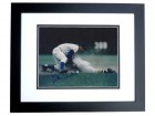 Glenn Beckert Signed - Autographed Chicago Cubs 8x10 inch Photo BLACK CUSTOM FRAME - Guaranteed to pass PSA or JSA