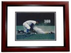 Glenn Beckert Signed - Autographed Chicago Cubs 8x10 inch Photo MAHOGANY CUSTOM FRAME - Guaranteed to pass PSA or JSA