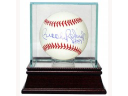 Brooks Robinson signed Official Major League Baseball HOF 83 w/ Glass Case (Orioles)