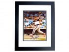 Greg Luzinski Signed - Autographed Chicago White Sox 8x10 inch Photo BLACK CUSTOM FRAME - Guaranteed to pass PSA or JSA