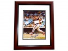 Greg Luzinski Signed - Autographed Chicago White Sox 8x10 inch Photo MAHOGANY CUSTOM FRAME - Guaranteed to pass PSA or JSA