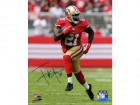 Frank Gore Signed San Francisco 49ers Action 8x10 Photo