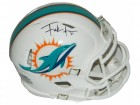 Frank Gore Signed Miami Dolphins Riddell Speed Mini Helmet