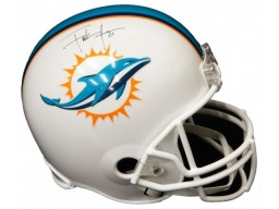 Frank Gore Signed Miami Dolphins Riddell Full-Size Replica Helmet