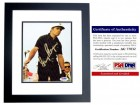 Gary Player Signed - Autographed Golf Legend 6x8 inch Photo - Magazine Page - PSA/DNA Certificate of Authenticity (COA) - BLACK CUSTOM FRAME