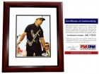 Gary Player Signed - Autographed Golf Legend 6x8 inch Photo - Magazine Page - PSA/DNA Certificate of Authenticity (COA) - MAHOGANY CUSTOM FRAME