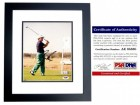 Gary Player Signed - Autographed Golf 8x10 inch Photo BLACK CUSTOM FRAME - PSA/DNA Certificate of Authenticity (COA)