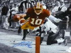 Robert Griffin III Autographed Washington Redskins 16x20 Photo Sephia JSA