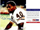 Gale Sayers Signed - Autographed Chicago Bears 8x10 inch Photo with PSA/DNA Certificate of Authenticity (COA)