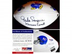 Gale Sayers Signed - Autographed Kansas Jayhawks Football with Kansas Comet inscription - PSA/DNA Certificate of Authenticity (COA)