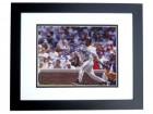 Gary Sheffield Signed - Autographed Florida Marlins 8x10 Photo BLACK CUSTOM FRAME - 1997 World Series Champion