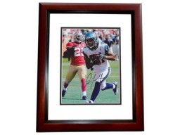Golden Tate Signed - Autographed Seattle Seahawks 8x10 inch Photo MAHOGANY CUSTOM FRAME - Guaranteed to pass PSA or JSA