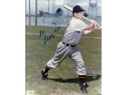 George Kell Autographed Detroit Tigers 8x10 Photo (Deceased Hall of Famer)