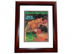 Gerry Clooney Signed - Autographed Boxing 8x10 inch Photo MAHOGANY CUSTOM FRAME - Guaranteed to pass PSA or JSA