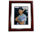 Gerry McNertney Signed - Autographed Chicago White Sox 8x10 inch Photo MAHOGANY CUSTOM FRAME - Guaranteed to pass PSA or JSA