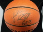 Kendall Gill Signed Spalding Indoor / Outdoor Basketball