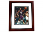 Glenn Robinson Signed - Autographed Milwaukee Bucks 8x10 inch Photo MAHOGANY CUSTOM FRAME - Guaranteed to pass PSA or JSA