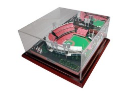 Great American Ballpark Replica Stadium Platinum Series Edition With Mirrored Case