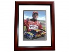 Greg Biffle Signed - Autographed Auto Racing 8x10 inch Photo MAHOGANY CUSTOM FRAME - Guaranteed to pass PSA or JSA