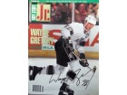 Wayne Gretzky (Los Angeles Kings) Signed Tuff Stuff Jr Magazine (Dated Dec 1991)