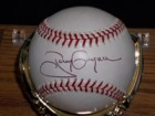 Tony Gwynn Signed Official MLB Baseball in Black Ink on the Sweet Spot (Comes with Single Baseball Display Case)