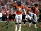 Chris Harris Autographed Denver Broncos 8x10 photo (Salute)