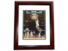 Harrison Barnes Signed - Autographed Golden State Warriors 8x10 Photo MAHOGANY CUSTOM FRAME