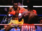 Thomas Hearns Signed Boxing Fight vs Sugar Ray Leonard 8x10 Photo w/Hitman