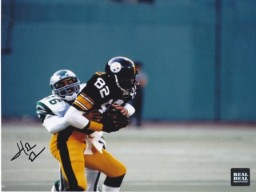 Herman Edwards Signed - Autographed Philadelphia Eagles 8x10 inch Photo - Guaranteed to pass PSA or JSA