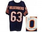 Jay Hilgenberg Signed Navy Custom Jersey w/SB XX Champs
