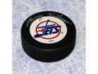 Larry Hillman Winnipeg Jets Autographed Hockey Puck