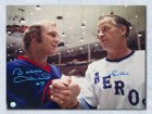 Gordie Howe Houston Aeros & Bobby Hull Winnipeg Jets Dual Signed 16X20 Wha Photo
