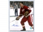 Gordie Howe Detroit Red Wings Signed 11X14 Mr Hockey Action Photo