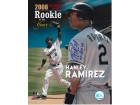 Hanley Ramirez Autographed Florida Marlins 8x10 Photo with Rookie Of The Year Inscription