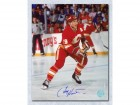Tim Hunter Calgary Flames Signed 8X10 Photo