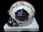 Hall of Fame Signed Hall of Fame Replica Helmet By Roger Staubach, Terry Bradshaw, Bart Starr and Joe Namath