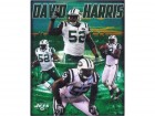 David Harris (New York Jets) Signed 8x10 Photo