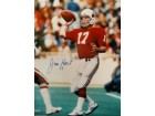 Jim Hart (Arizona Cardinals) Signed 16x20 Photo
