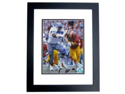 Harvey Martin Signed - Autographed Dallas Cowboys 8x10 inch Photo BLACK CUSTOM FRAME - Guaranteed to pass PSA or JSA - Super Bowl XII MVP - Deceased 2001