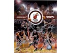 Miami Heat (2005) Signed 8x10 By Eddie Jones, Rasual Butler, Shaquille O'Neal, Dwayne Wade and Udonis Haslem