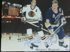 Brett / Bobby Hull Signed 11x14 Photo Limited Edition (Each numbered individually)