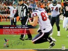 Kevin Walter Autographed Houston Texans 16x20 Photo - Clinched 1st Playoff Berth