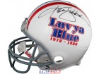 Ken Stabler Autographed Houston Oilers Luv Ya Blue Authentic Full Size Helmet